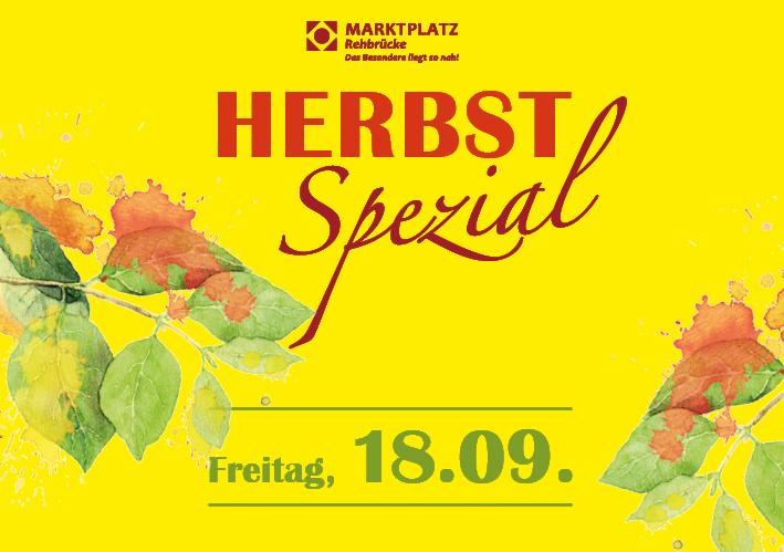 Banner Herbst-Spezial