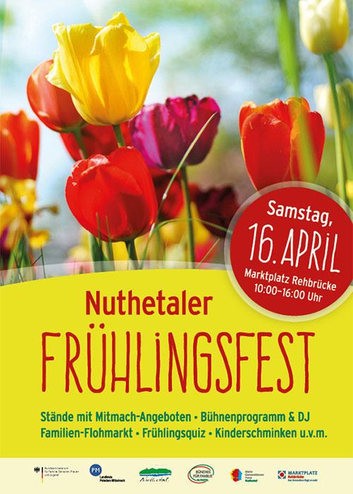 Plakat Nuthetaler Fruehlingsfest